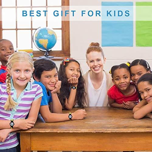 Vinmori Kid's Watch,3D Cartoon Pattern Silicone Band Waterproof Quartz Watch Gift for Children Boys Girls 8