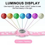 Viposoon Gifts for 3 4 5 6 7 8 9 Year Old Girls, 3D Kids Waterproof Watch Toy for 4-8 Year Old Girls Birthday Gifts for… 20