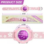 Viposoon Gifts for 3 4 5 6 7 8 9 Year Old Girls, 3D Kids Waterproof Watch Toy for 4-8 Year Old Girls Birthday Gifts for… 23
