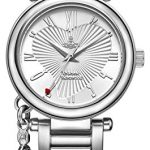 Vivienne Westwood Women's Orb Quartz Watch with Silver Dial Analogue Display and Stainless Steel Bracelet 7