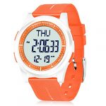 WIFORT Mens Women Digital Sports Watch Ultra-Thin and Wide Angle Vision Design, 5ATM Swimming Waterproof, Countdown Dual… 15