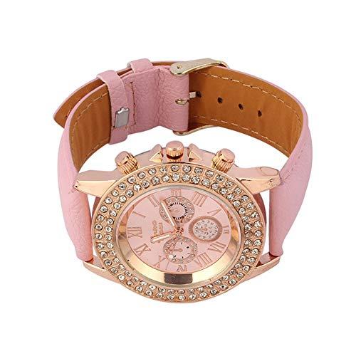 Watches for Women, Stekima Fashion Crystal Analog Display Dial Quartz Watches for Women Ladies Bracelet Bangle Wrist… 3
