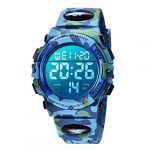 Kids Watches, Boys Digital Outdoors Sport Watch Multifunction Waterproof Digital Watch with LED Light Alarm and Calendar… 24