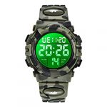 Kids Watches, Boys Digital Outdoors Sport Watch Multifunction Waterproof Digital Watch with LED Light Alarm and Calendar… 25