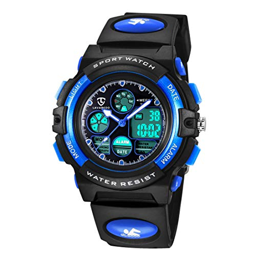 Watches,Kids Watches,Boys Teenagers Digital Outdoors Sport Watch Multifunction Waterproof Electronic Digital Watch with… 1