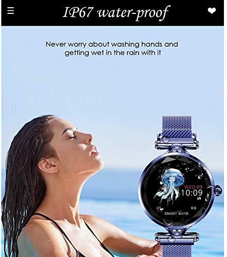 Waterproof Female Smart Watch, Women Outdoor Smart Sports Watch, Sleep & Blood Pressure Oxygen Monitor Calorie/Step… 3