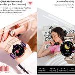 Waterproof Female Smart Watch, Women Outdoor Smart Sports Watch, Sleep & Blood Pressure Oxygen Monitor Calorie/Step… 21