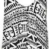WearAll Plus Size Womens Printed Strappy Sleeveless Ladies Mini Dress Vest Top - 16-26 6