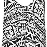 WearAll Plus Size Womens Printed Strappy Sleeveless Ladies Mini Dress Vest Top - 16-26 8