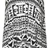 WearAll Plus Size Womens Printed Strappy Sleeveless Ladies Mini Dress Vest Top - 16-26 4