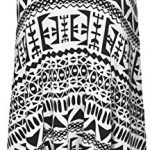 WearAll Plus Size Womens Printed Strappy Sleeveless Ladies Mini Dress Vest Top - 16-26 7