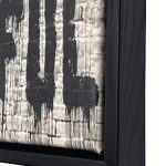 Wieco Art Black Framed Canvas Prints of Banksy Life is Beautiful Modern Grey Love Pictures Paintings on Canvas Wall Art… 25