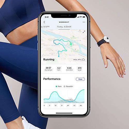 Withings Move Hybrid Smartwatch - Activity Tracker with Connected GPS, Sleep Monitor, Water Resistant with 18-month… 7
