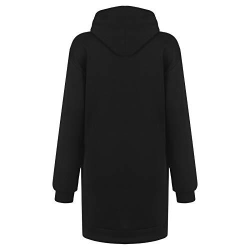 Women's Christmas Hoodie Dress, Ladises Bag Hip Pocket Xmas Print Hooded Sweatshirt Sweater Tops Shirts T22G1 6