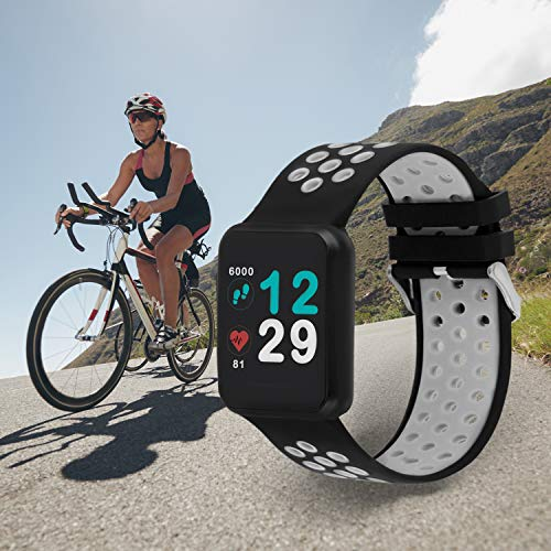 X-WATCH KETO SUN REFLECT Smart Watch, Always On Colour Screen, Heart Rate Monitor, Step, Calorie & Distance Counter… 9