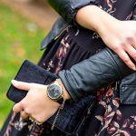 X-WATCH Hybrid Smart Watch Cleo XW Connect Women's Pedometer Wristwatch - Activity Tracker - Ladies Smartwatch Velvet… 25