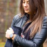 X-WATCH Hybrid Smart Watch Cleo XW Connect Women's Pedometer Wristwatch - Activity Tracker - Ladies Smartwatch Velvet… 28