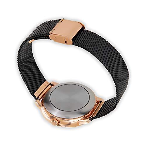 X-WATCH Hybrid Smart Watch Cleo XW Connect Women's Pedometer Wristwatch - Activity Tracker - Ladies Smartwatch Velvet… 10