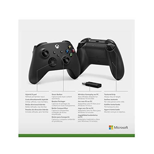 Xbox Wireless Controller + Wireless Adapter for Windows (Xbox Series X/) 4