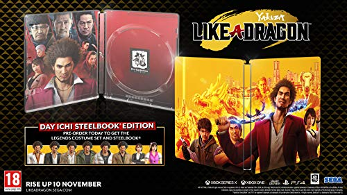 Yakuza: Like a Dragon Day Ichi Steelbook Edition (PS4) 7