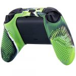 YoRHa Dots Cover Skin Case for Xbox Series X/S Controller x 1(Camouflage Green) with Thumb Grips x 10 12