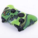 YoRHa Dots Cover Skin Case for Xbox Series X/S Controller x 1(Camouflage Green) with Thumb Grips x 10 14
