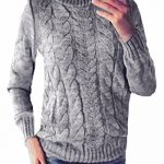 ZANZEA Women Casual Cable Knit Oversized Baggy Long Pullover Knitted Plain Sweater Jumper Tops Shirt 15