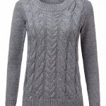 ZANZEA Women Casual Cable Knit Oversized Baggy Long Pullover Knitted Plain Sweater Jumper Tops Shirt 20