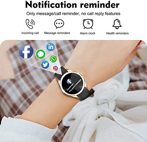 ZQD Smartwatch for Women, IP68 Waterproof, Fitness Tracker with Heart Rate, Sleep Monitoring, Step Counter, Activity… 4
