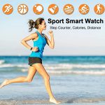 ZQD Smartwatch for Women, IP68 Waterproof, Fitness Tracker with Heart Rate, Sleep Monitoring, Step Counter, Activity… 23