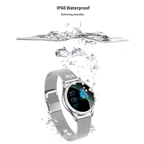 ZQD Smartwatch for Women, IP68 Waterproof, Fitness Tracker with Heart Rate, Sleep Monitoring, Step Counter, Activity… 8
