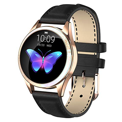 ZQD Smartwatch for Women, IP68 Waterproof, Fitness Tracker with Heart Rate, Sleep Monitoring, Step Counter, Activity… 1