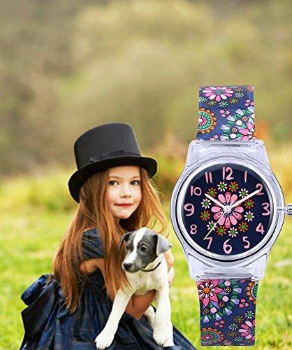 Zeiger Kids Analog Watches Children Sports Waterproof Cute Cartoon Toy Watch Teaching Wrist Watches Gift for Boys Girls 4