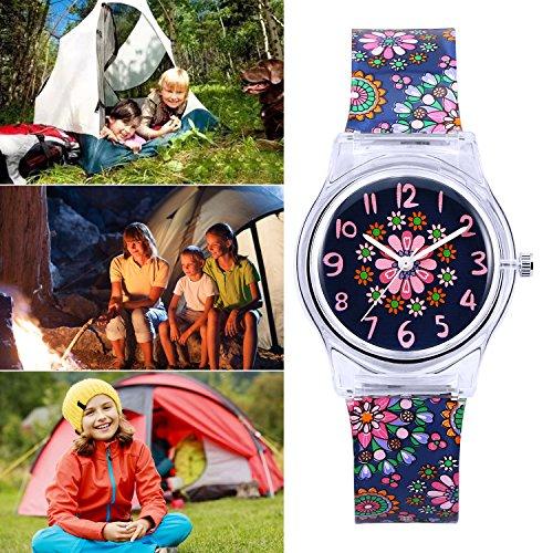 Zeiger Kids Analog Watches Children Sports Waterproof Cute Cartoon Toy Watch Teaching Wrist Watches Gift for Boys Girls 5