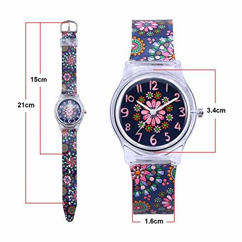 Zeiger Kids Analog Watches Children Sports Waterproof Cute Cartoon Toy Watch Teaching Wrist Watches Gift for Boys Girls 7