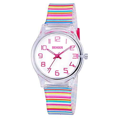 Zeiger Kids Watches Sports Watch for Girls and Boys Lovely Student Watch Resin Strap Watch Best Gift for Child 1