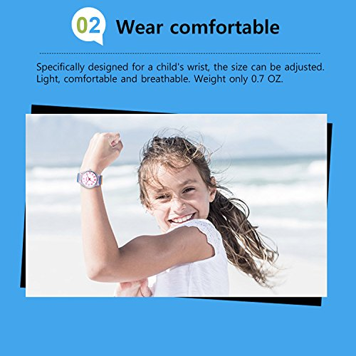 Zeiger Kids Watches Sports Watch for Girls and Boys Lovely Student Watch Resin Strap Watch Best Gift for Child 6