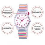 Zeiger Kids Watches Sports Watch for Girls and Boys Lovely Student Watch Resin Strap Watch Best Gift for Child 26