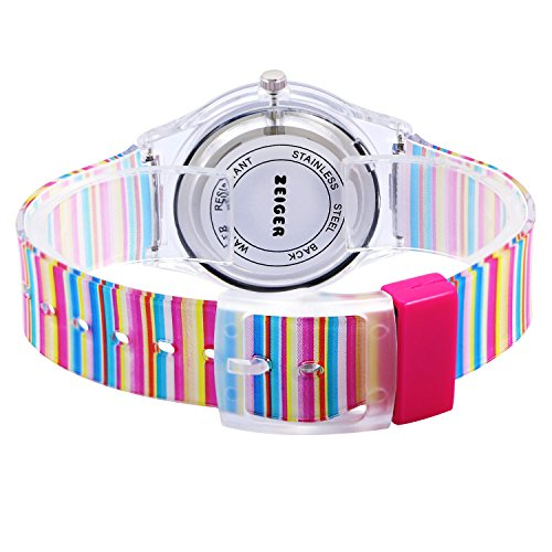 Zeiger Kids Watches Sports Watch for Girls and Boys Lovely Student Watch Resin Strap Watch Best Gift for Child 9