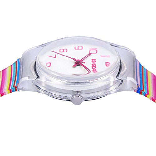 Zeiger Kids Watches Sports Watch for Girls and Boys Lovely Student Watch Resin Strap Watch Best Gift for Child 10