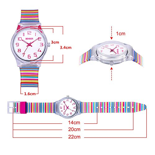 Zeiger Kids Watches Sports Watch for Girls and Boys Lovely Student Watch Resin Strap Watch Best Gift for Child 3