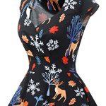 bbonlinedress Women's 50s 60s A Line Rockabilly Dress Cap Sleeve Vintage Swing Party Dress 22