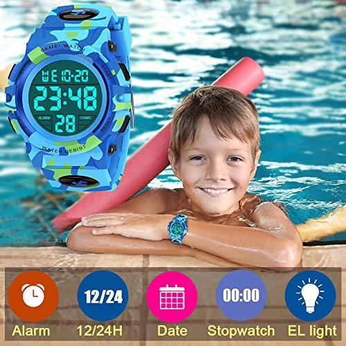 SOKY LED WaterproofDigitalWatchforKids - Gifts for Boys 1