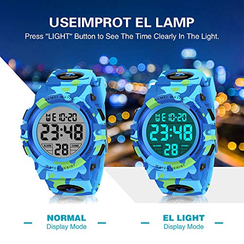 SOKY LED WaterproofDigitalWatchforKids - Gifts for Boys 5