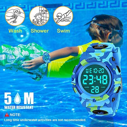 SOKY LED WaterproofDigitalWatchforKids - Gifts for Boys 8