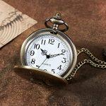 eBoutik - Mens FOB Pocket Watch, Vintage Style Pocket Watch with Chain, Pendant Pocket Watch for Son Greatest Dad… 22