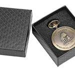 eBoutik - Mens FOB Pocket Watch, Vintage Style Pocket Watch with Chain, Pendant Pocket Watch for Son Greatest Dad… 24