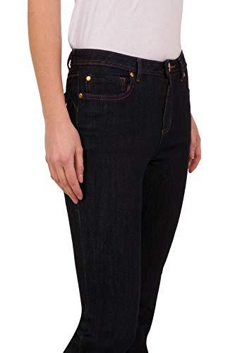 exfaMouSstore Ladies Mid Waist Pockets Womens Slim Fit Stretch Denim Jeans 3