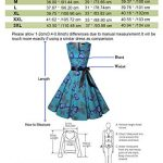 ihot Women's Vintage 1950s Classy Rockabilly Retro Floral Pattern Print Cocktail Evening Swing Party Dress 20