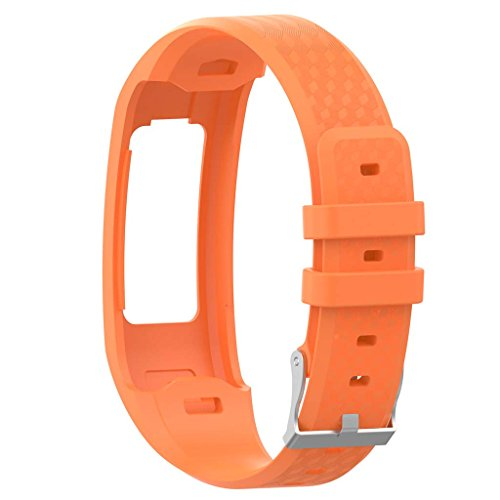 qianqian56 Replacement Soft Silicone Wrist Watch Band Strap For Garmin Vivofit 1/2 Bracelet 5